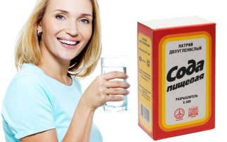 Лечение цистита народные средства сода