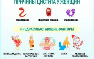 Лечение цистита у ребенка свечами генферон лайт