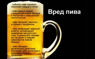 Пиво при цистите помогает отзывы