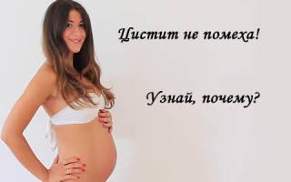 Цистит в период ранней беременности