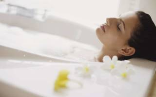 Можно ли при цистите мыться в горячей ванной