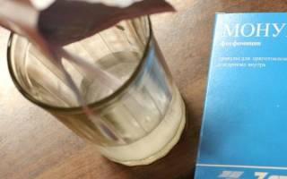 Монурал при лечении хронического цистита