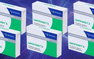 Ципролет для лечения цистита отзывы