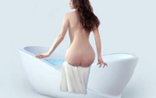Теплая ванна с солью при цистите