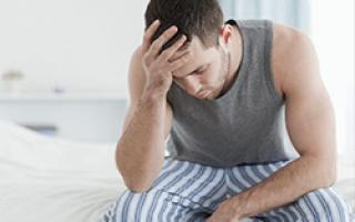 Острый цистит у мужчин клиника