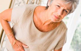 При хроническом цистите у пожилых женщин