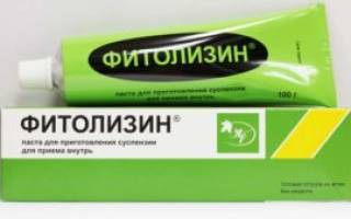 Средство для лечения цистита фитолизин