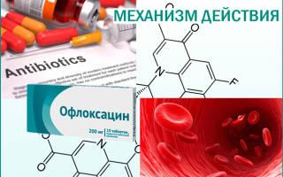 Офлоксацин как применять при цистите
