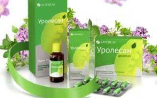 Растительные препараты от цистита уролесан