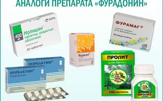Дозировка фурадонина для лечения цистита