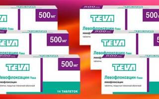 Сколько дней принимать левофлоксацин при цистите